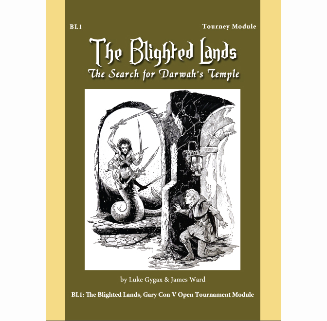 Blighted Lands I – Search for Darwah's Temple