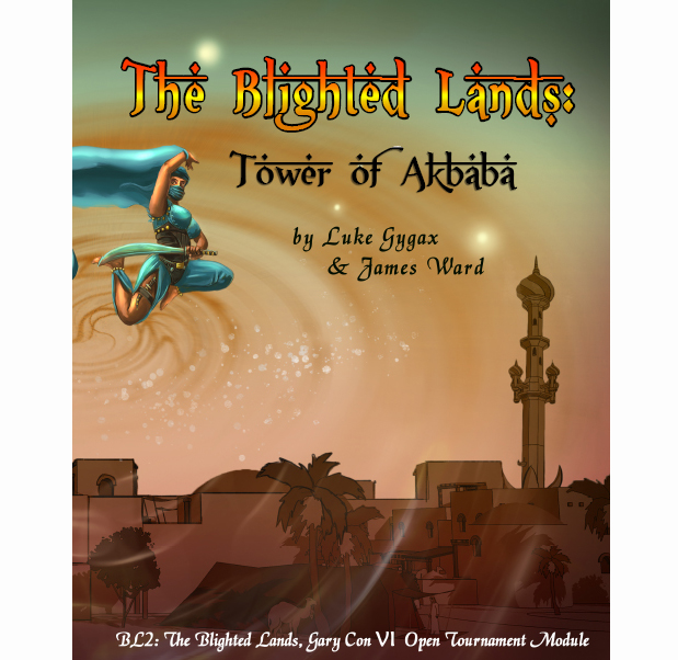 Blighted Lands II – Tower of Akbaba (The Final Game at Founders & Legends II)