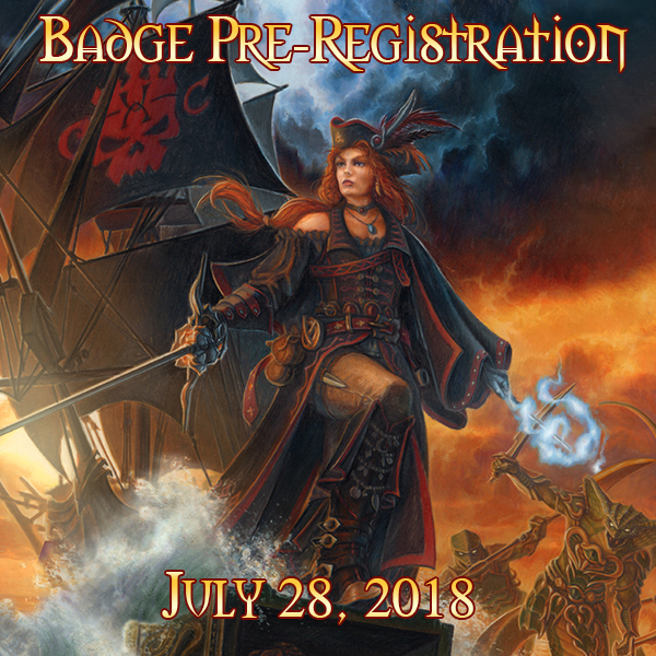 Badge Pre-Registration