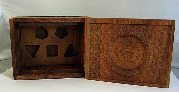 Wooden GC Dice Boxes