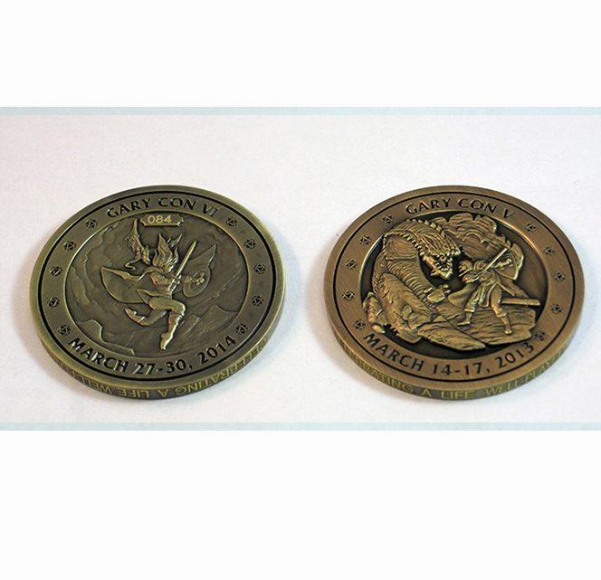 Gary Con V / VI Challenge Coin