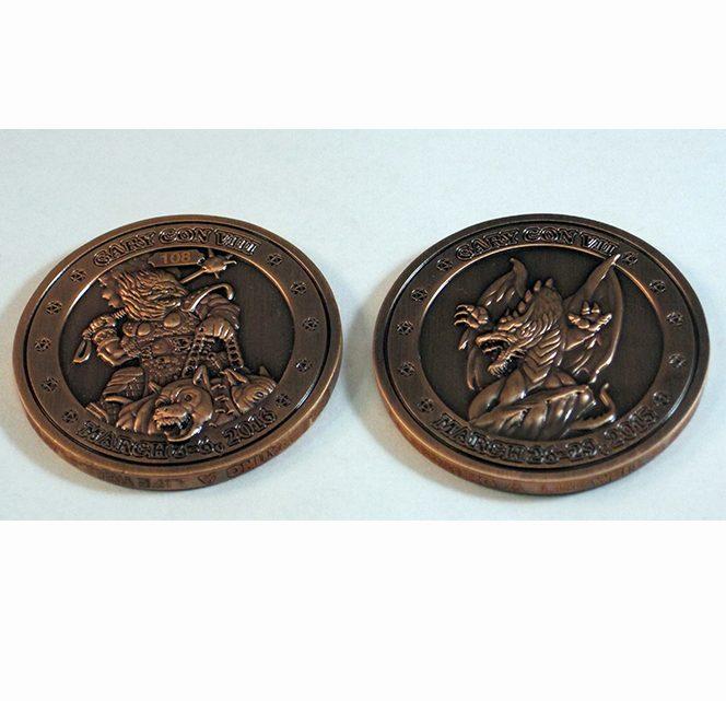 Gary Con VII / VIII Challenge Coin