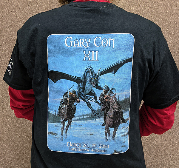 Gary Con XII Official T-shirt