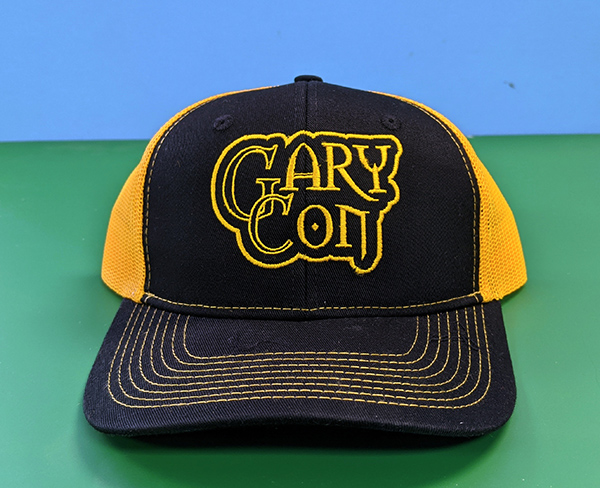 Limited Gary Con Black and Gold Trucker Hat