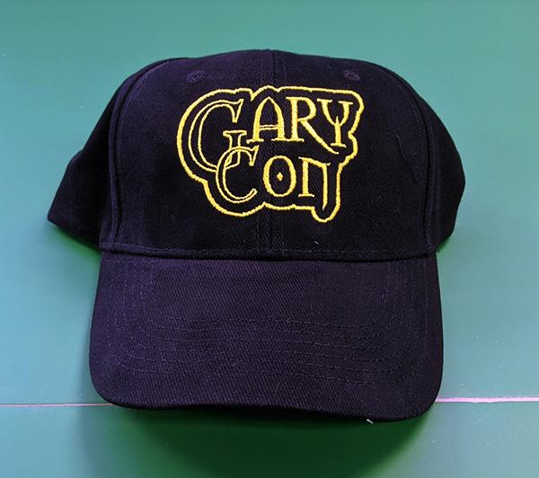 Gary Con Black Baseball Cap