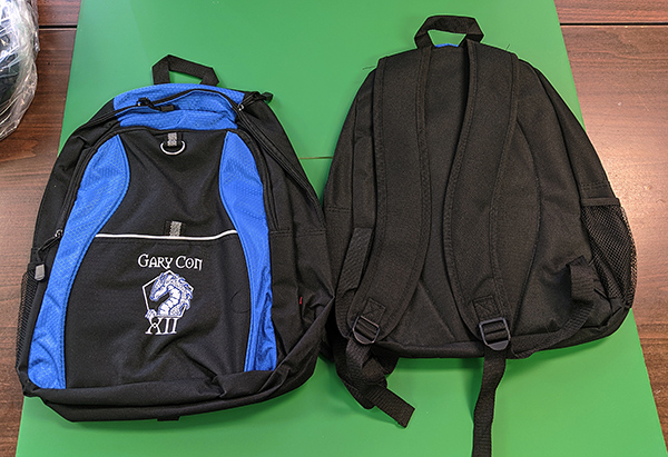 GC XII Backpack of Holding