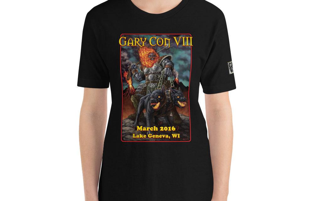 Gary Con VIII 2016 Reprint T-Shirt (PF)