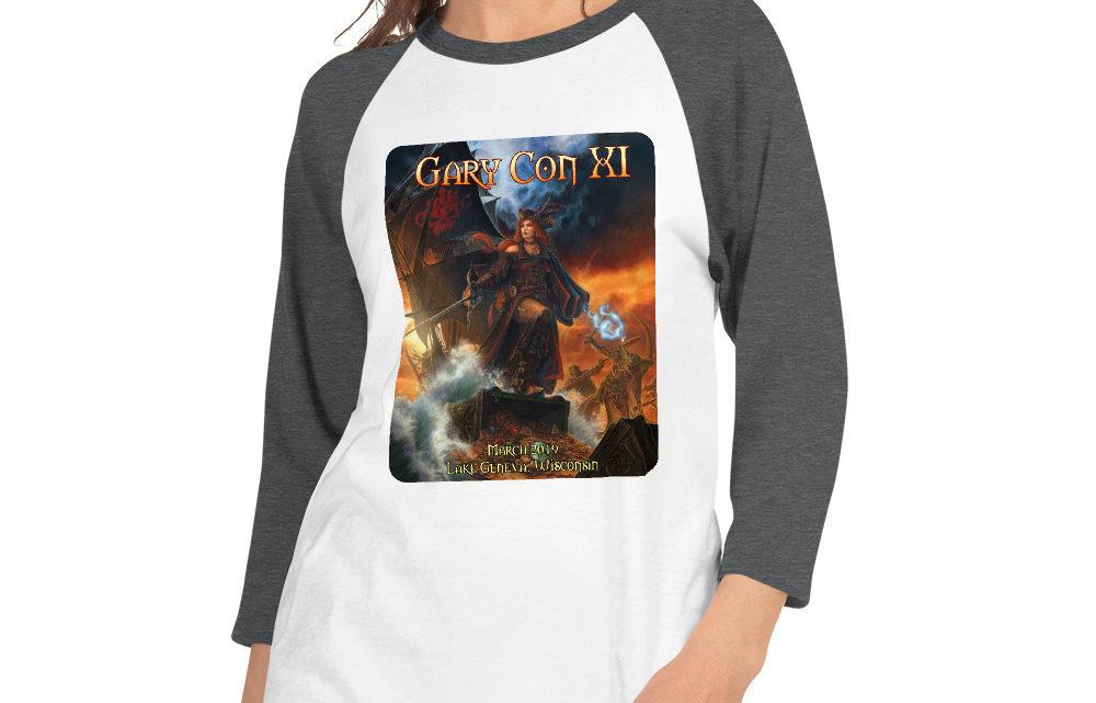 Gary Con XI Reprint- 3/4 Sleeve Raglan Shirt (PF)