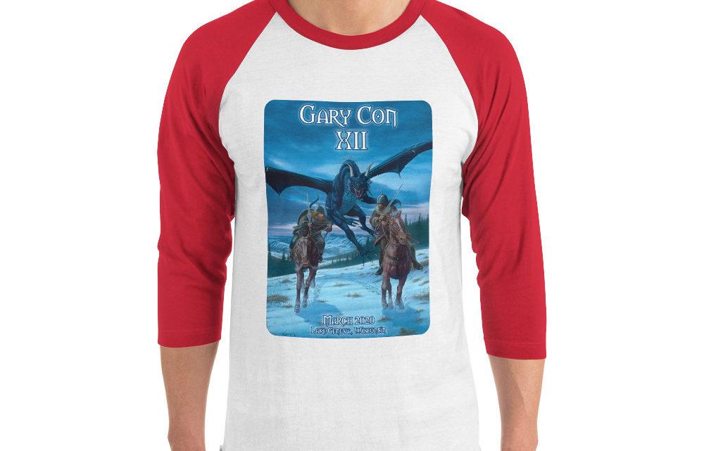 Gary Con XII Reprint- 3/4 Sleeve Raglan Shirt (PF)