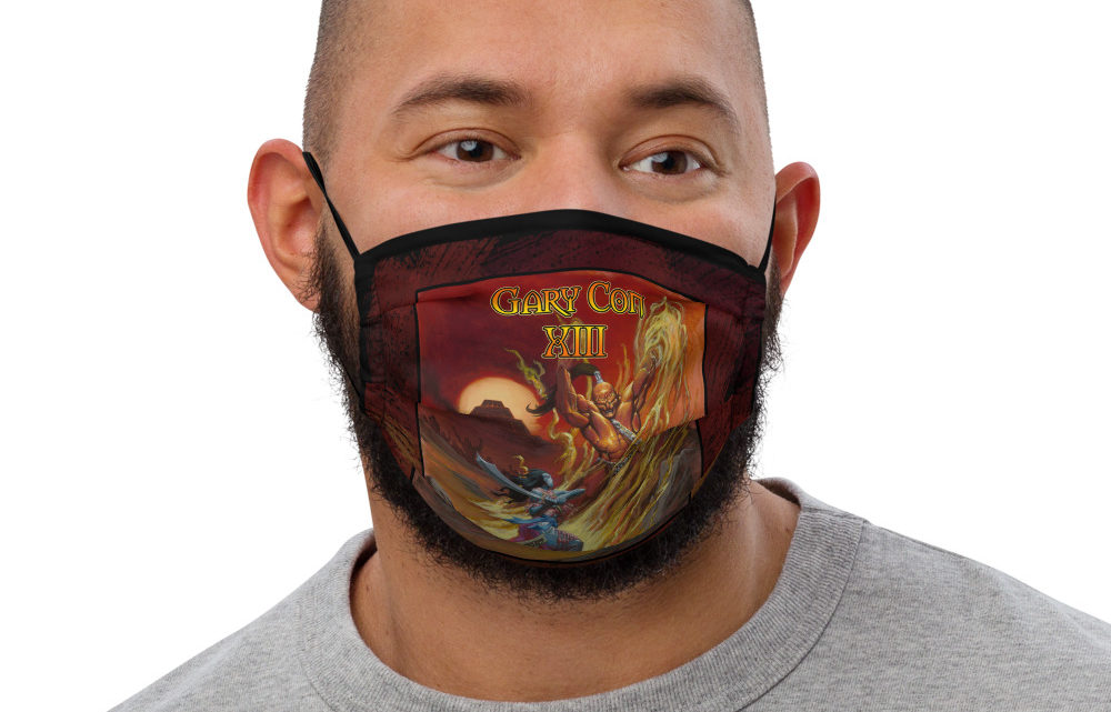 Gary Con XIII Fire Elemental Face Mask (PF)