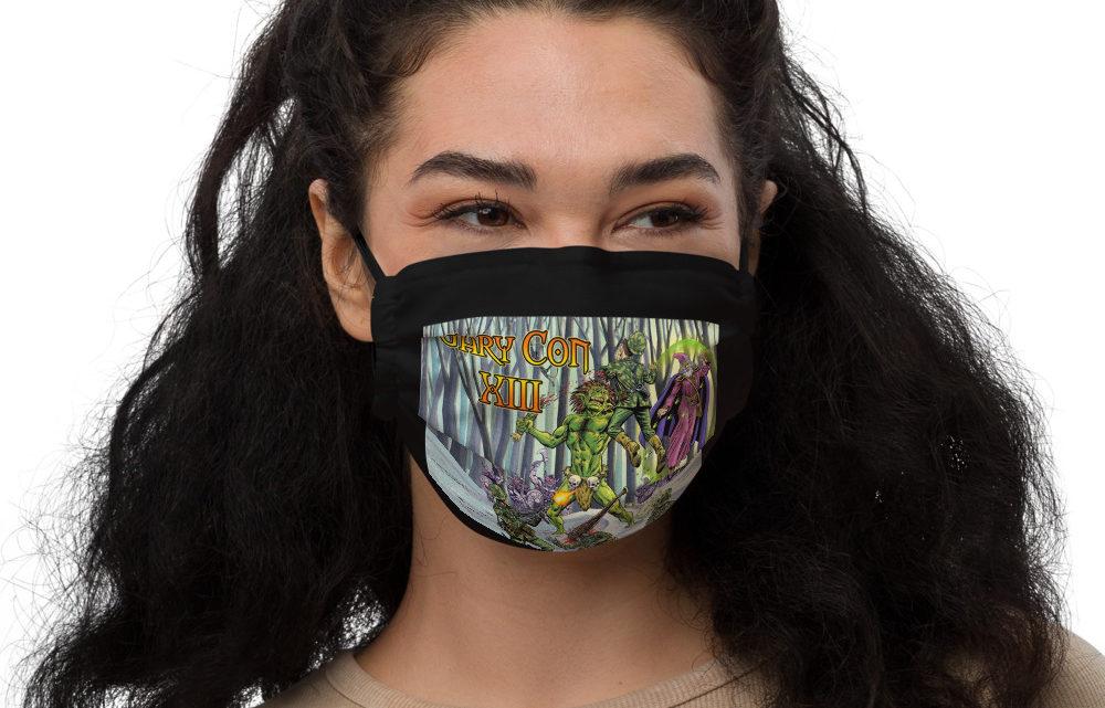 Gary Con Troll Art Face Mask (PF)