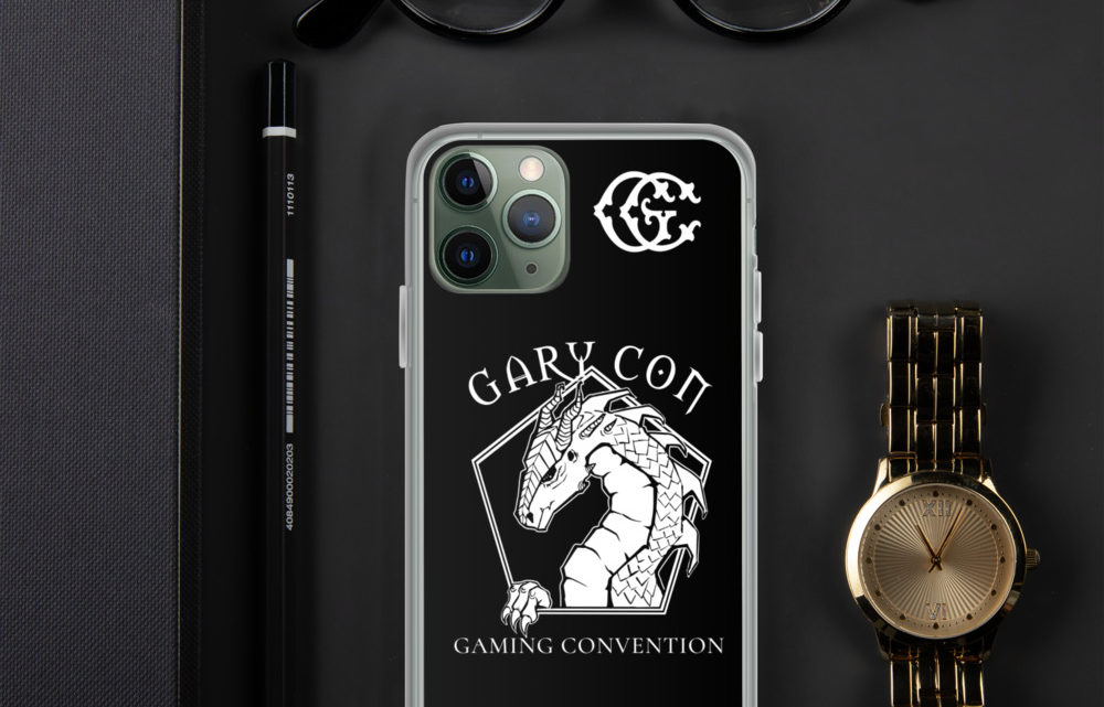 Gary Con Dragon iPhone Case (PF)