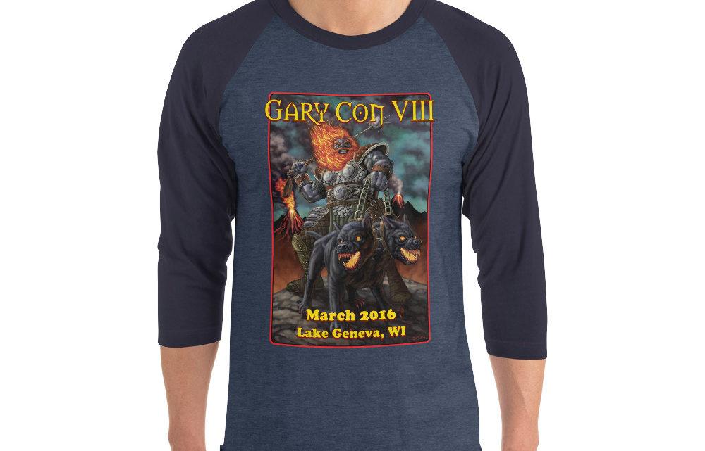 Gary Con VIII Reprint- 3/4 Sleeve Raglan Shirt (PF)