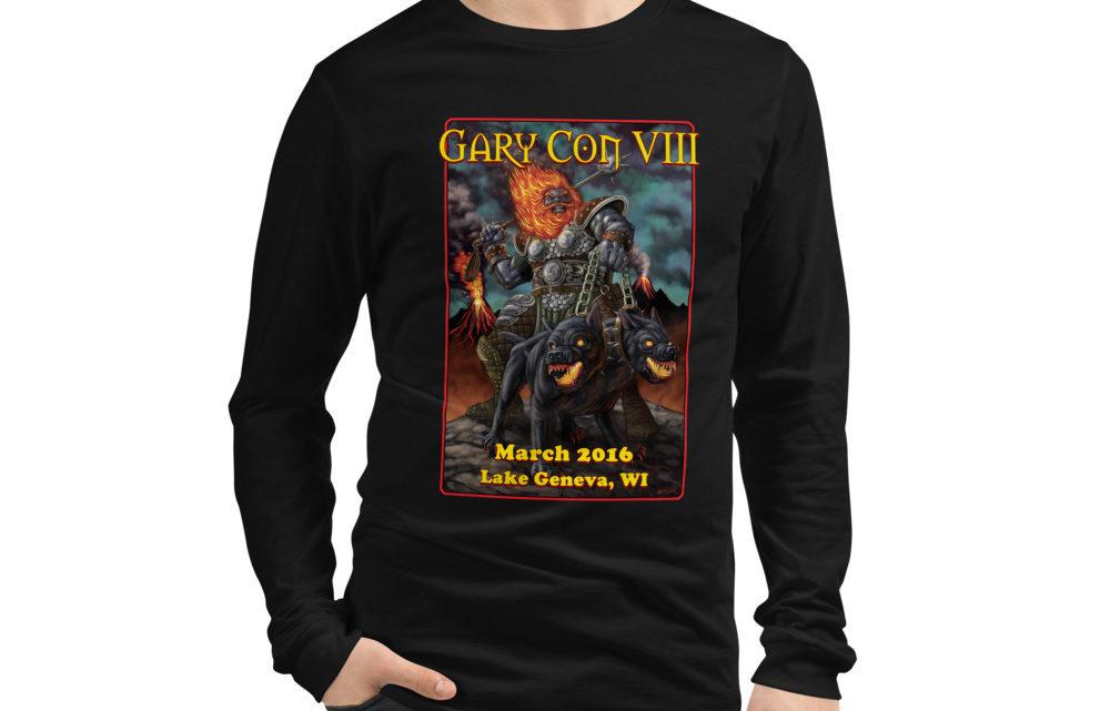 Gary Con VIII Fire Giant Reprint- Unisex Long Sleeve Shirt (PF)