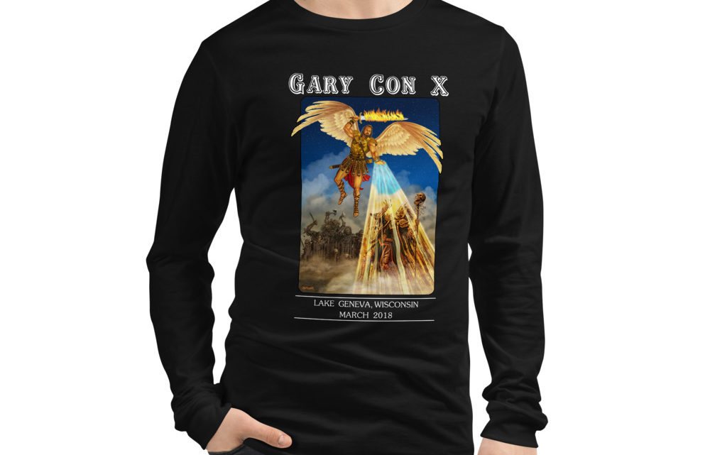 Gary Con X Defeating Death Reprint- Unisex Long Sleeve Shirt