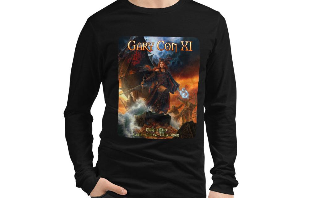 Gary Con XI Pirate Queen Reprint- Unisex Long Sleeve Shirt