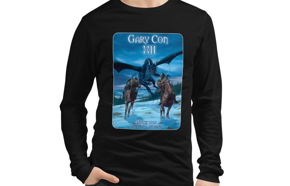 Gary Con XII Dragon Reprint- Unisex Long Sleeve Shirt