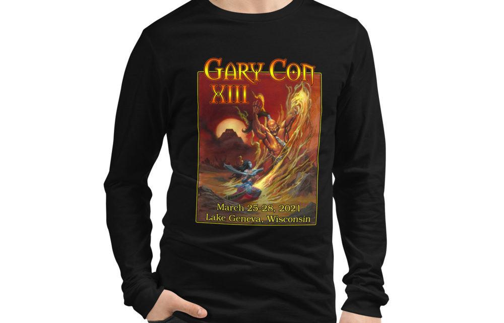Gary Con XIII Fire Elemental- Unisex Long Sleeve Shirt