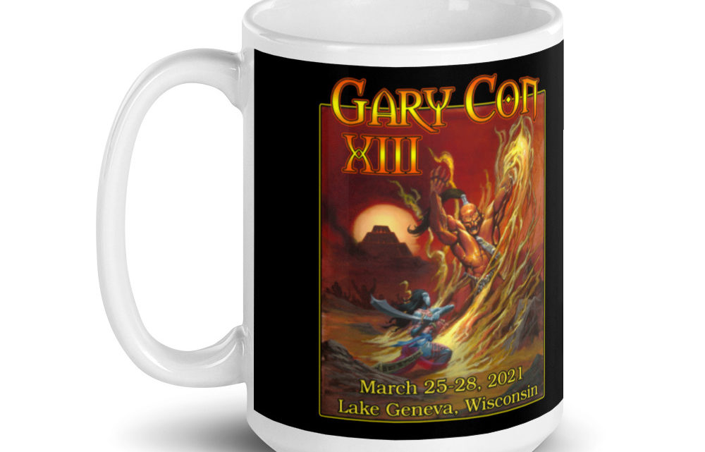 Gary Con XIII Fire Elemental Mug  (PF)
