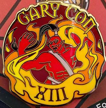 Gary Con XIII Enamel Pin
