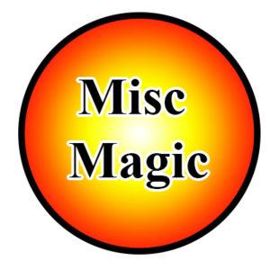 Misc Magic Items