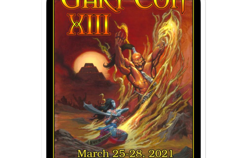 Gary Con XIII Fire Elemental Sticker